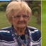 Shane Lowry's grandmother Emily Scanlon (left).