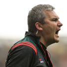 Mayo manager James Horan during the GAA Football All-Ireland Senior Championship Quarter-Final Group 1 Phase 2 match between Mayo and Meath at Croke Park in Dublin. Photo by David Fitzgerald/Sportsfile