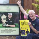 22/7/2019, Ray Molloy, manager of Esker Hills Golf Club, in Offaly, home club of Shane Lowry celebrate his success in the Open. Picture credit; Damien Eagers / INM