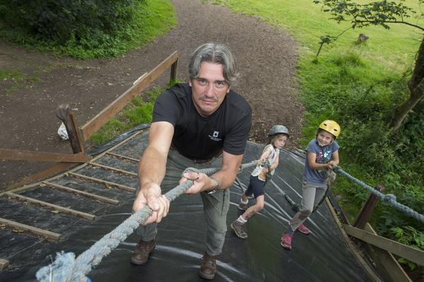 Struggling: Derek Binchy of Fota Adventure Centre, Cork, who is under huge pressure due to spiralling insurance costs. Photo: Michael Mac Sweeney/Provision