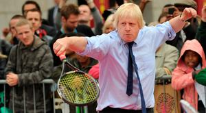 Point to prove: Boris Johnson has never been lacking in ambition. Photo: AFP/Getty Images