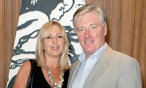 Led local opposition: Kathy and Pat Kenny objected to the building of flats and houses near their own home, but An Bord Pleanála granted the developers permission. Photo: Brian McEvoy