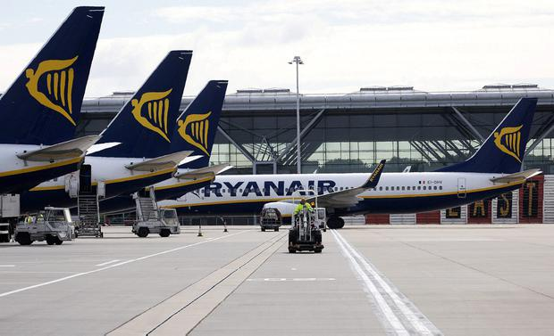 Ryanair was hit by several one-day strikes. Photo: Simon Dawson/Bloomberg