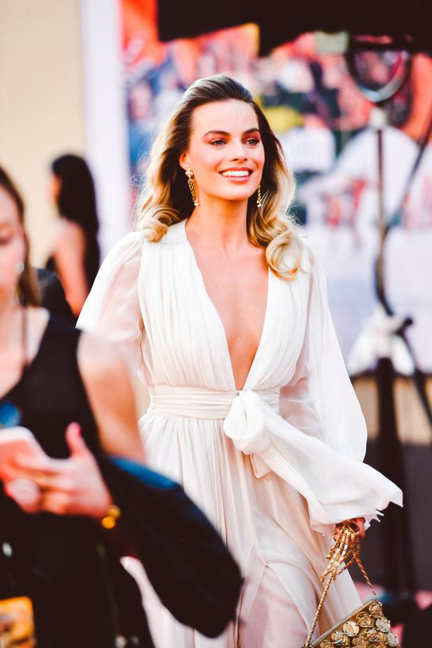 Margot Robbie attends Sony Pictures'