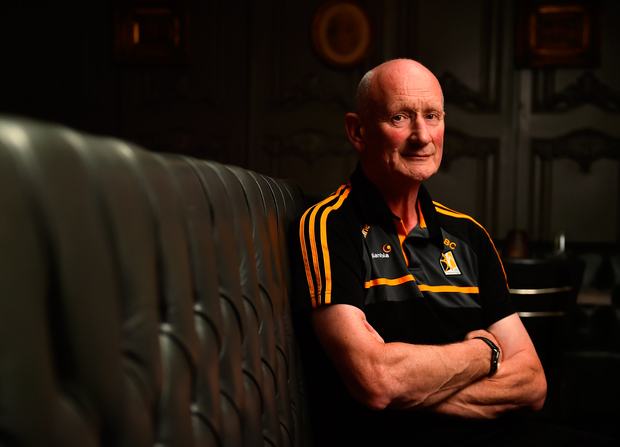 Kilkenny manager Brian Cody poses following a Kilkenny press conference at the Langton House Hotel, Kilkenny ahead of Saturday's All-Ireland SHC semi-final
