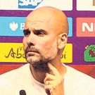 Pep Guardiola. Photo: PA Wire