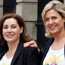 Josepha Madigan and Maria Bailey