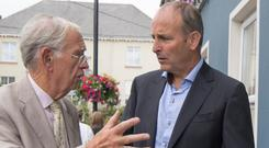 Fianna Fáil leader Micheál Martin at the MacGill Summer School in Co Donegal last year. Photo: North West Newspix