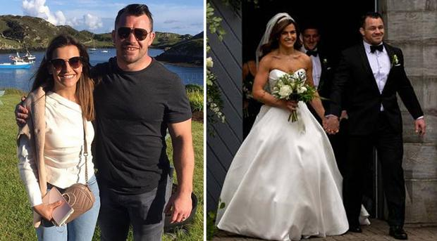 Cian Healy and wife Laura Smith wed in June 2019