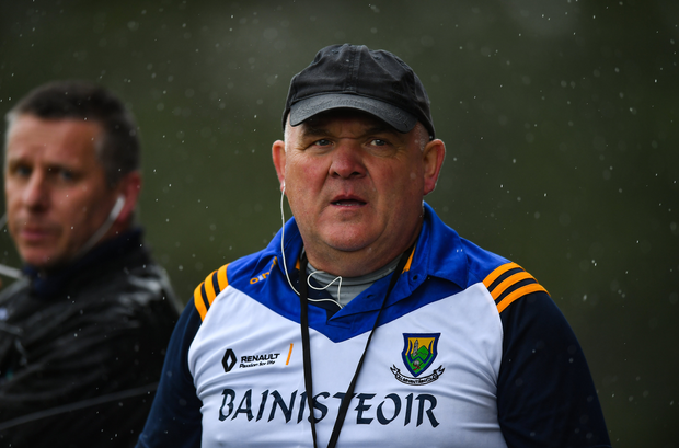 John Evans has stepped down as Wicklow manager. Photo by David Fitzgerald/Sportsfile