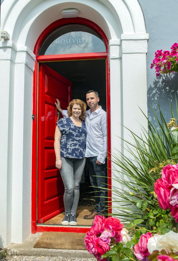 Caroline and Richie Foley of Roseville Guesthouse. Photo: Michael Mac Sweeney/Provision