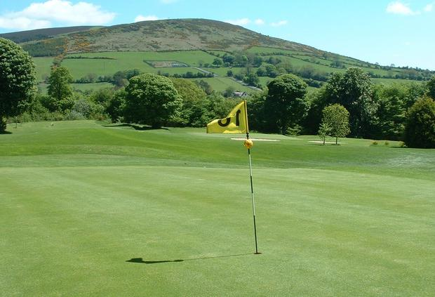 Labour of love: Volunteers play a key role in the upkeep of this beautiful course