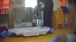 RTÉ Investigates goes undercover in a Dublin creche company to expose serious failings in the standard of care provided to children in a number of branches across the city. Broadcast 24/07/19 on RTE One