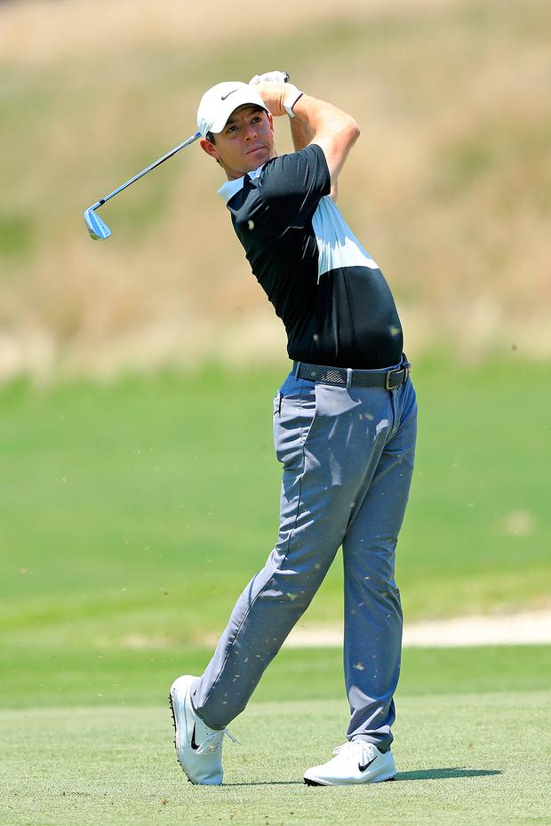 McIlroy: Aiming to bounce back in US. Photo: Getty