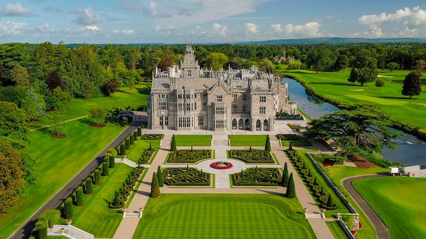 Adare Manor Golf Club, Limerick. Murray Consultants/PA Wire