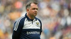 New vision: Wexford's attacking style and sweeper system are evolving under Davy Fitzgerald's guidance. Photo: Daire Brennan/Sportsfile