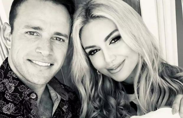 Wesley Quirke and Rosanna Davison have announced they're having a baby. Picture: Instagram