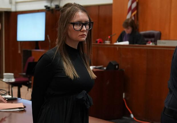 Living a lie .... Anna Delvey (born Anna Sorokin) was jailed after she tricked the socialites of New York by pretending to be an uber- wealthy German heiress