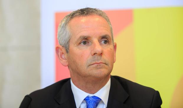 Health plan: New HSE chief executive Paul Reid will be able to reshape his management. Photo: Gareth Chaney Collins