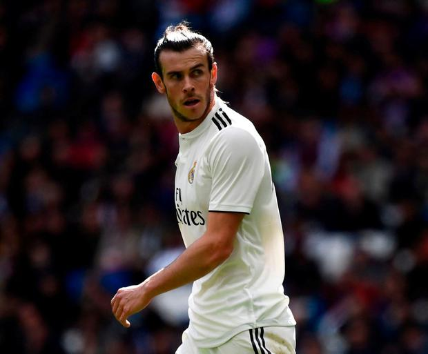 Gareth Bale looks set to leave his recent troubles at Real Madrid for a big-money transfer to Chinese club Jiangsu Suning. Photo: Gabriel Bouys/AFP/Getty Images