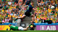 'When Mayo needed a head of steam last week against Meath it was Colm Boyle, Lee Keegan, Seamus O'Shea, Cillian O'Connor and sub Andy Moran who poured on more coal'. Photo: David Fitzgerald/Sportsfile