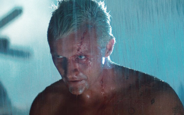 'Like tears in rain': Rutger Hauer starred as Roy Batty in the blockbuster 'Blade Runner'