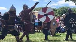 Medieval fun day at Duckett's Grove in Carlow