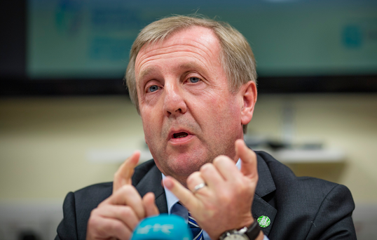 Action: Agriculture Minister Michael Creed said he hoped to inject money into the beef industry after a prolonged period of depressed prices. Photo: Arthur Carron