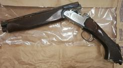 Gardaí have recovered a sawn-off shotgun after shots were fired at a home in north Dublin