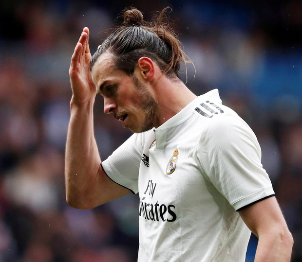 Gareth Bale has endured a difficult period at Real Madrid. Photo: Reuters/Javier Barbancho/File Photo