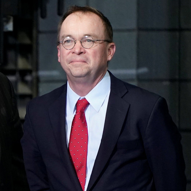 'Mr Mulvaney denies that the president's tweets were racist and says Mr Trump would criticise any politician who spoke unfairly about his policies.' Photo: Reuters
