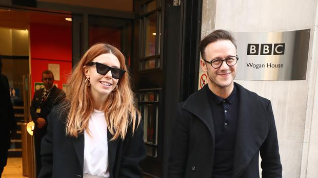 Stacey Dooley and Kevin Clifton (Gareth Fulller/PA)