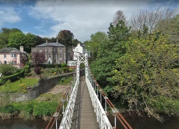 Daly's Bridge spanning the River Lee in Cork Photo: Google Maps