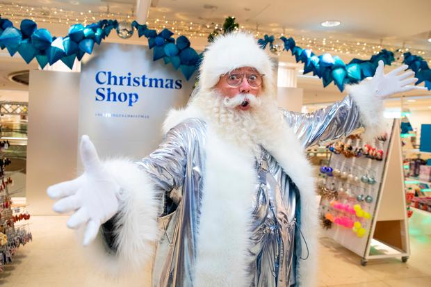 Future Fantasy Santa opens the Christmas shop at Selfridges in London Photo credit: Aaron Chown/PA Wire