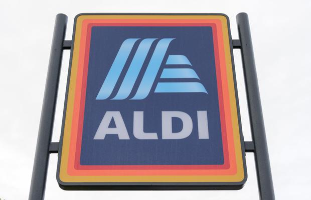 Growth: German supermarket brand Aldi has recorded the highest sectoral growth with sales 12.8pc higher than a year ago for a 12.5pc share. Picture by Simon Hadley.