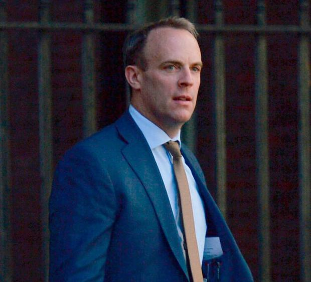 Foreign Secretary Dominic Raab. Photo: Kirsty O'Connor/PA Wire