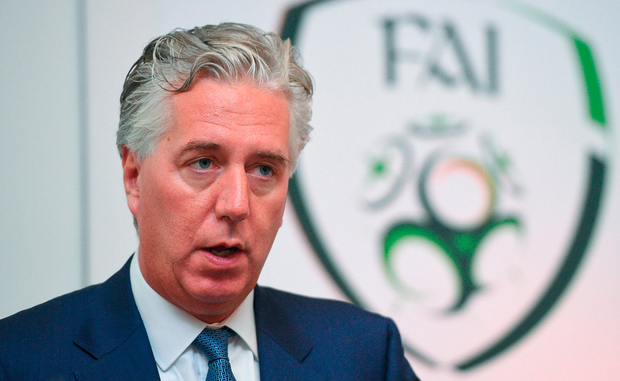 Former FAI chief executive John Delaney Photo: Cody Glenn/Sportsfile