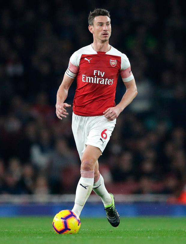 Having moved to Arsenal from Lorient in 2010 it is understood Koscielny is now keen to return to play in France. Photo: Adam Davy/PA Wire.