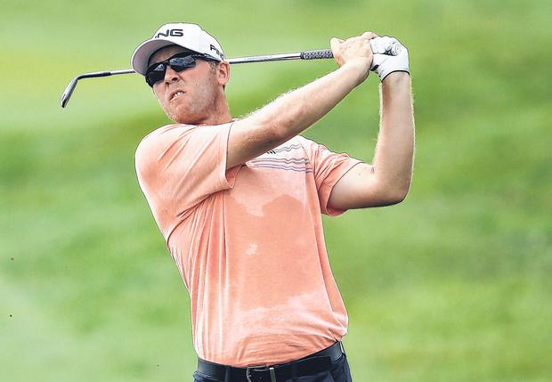 Seamus Power shot an opening six-under 64 at the Wyndham Championships. Photo: Getty