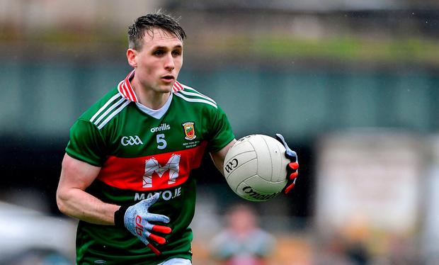 Having been tested by the Royals two weeks ago, the break may allow Paddy Durcan (pictured) and Keith Higgins return soon for Mayo. Photo: Piaras Ó Mídheach/Sportsfile