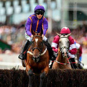 Wicklow Brave and Paul Townend winning at Galway this year