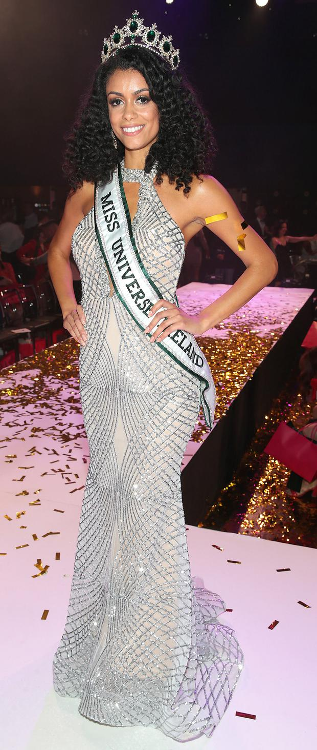 Miss Universe Dublin Fionnghuala O'Reilly. Picture: Brian McEvoy