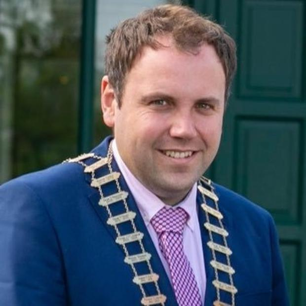 Clare Mayor Cathal Crowe