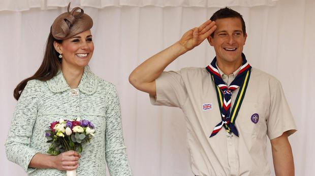 Bear Grylls is among the competitors (Olivia Harris/PA)