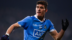 Comeback kid: Diarmuid Connolly is back in the Dublin squad and could make his first championship appearance for over two years against Tyrone in Omagh tomorrow. Photo: Sportsfile