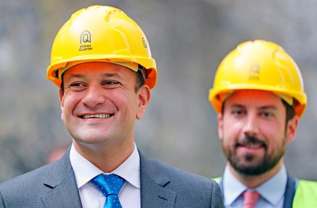 Tough message: Leo Varadkar must make the EU listen to what everyone in Ireland needs. Picture: PA