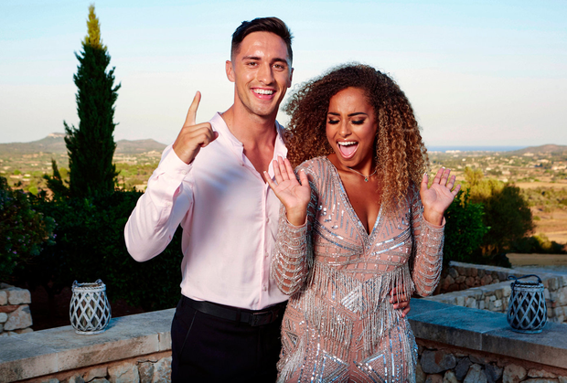 Love Island's Amber Rose Gill rubbishes rumours of split