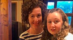 Meabh with her daughter Nora Quoirin, who has gone missing while on holiday in Malaysia Photo credit: Family Handout/PA Wire