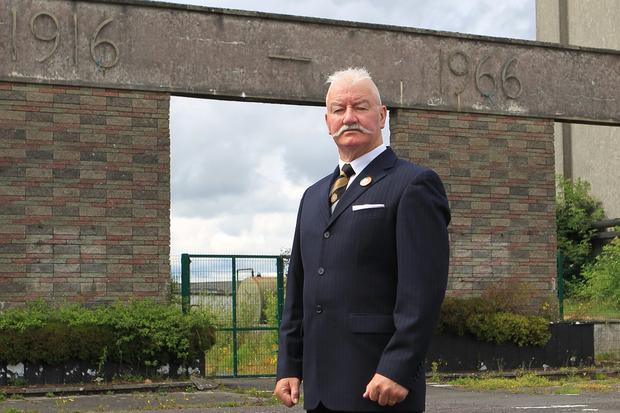 Anger: Retired Sergeant Major Noel O'Callaghan says Government treatment of Defence Forces has been shameful. Photo: Kevin Mc Nulty