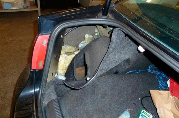 Potential for harm: The UK's National Crime Agency found 60 guns hidden in a car used by Clonee man Robert Keogh